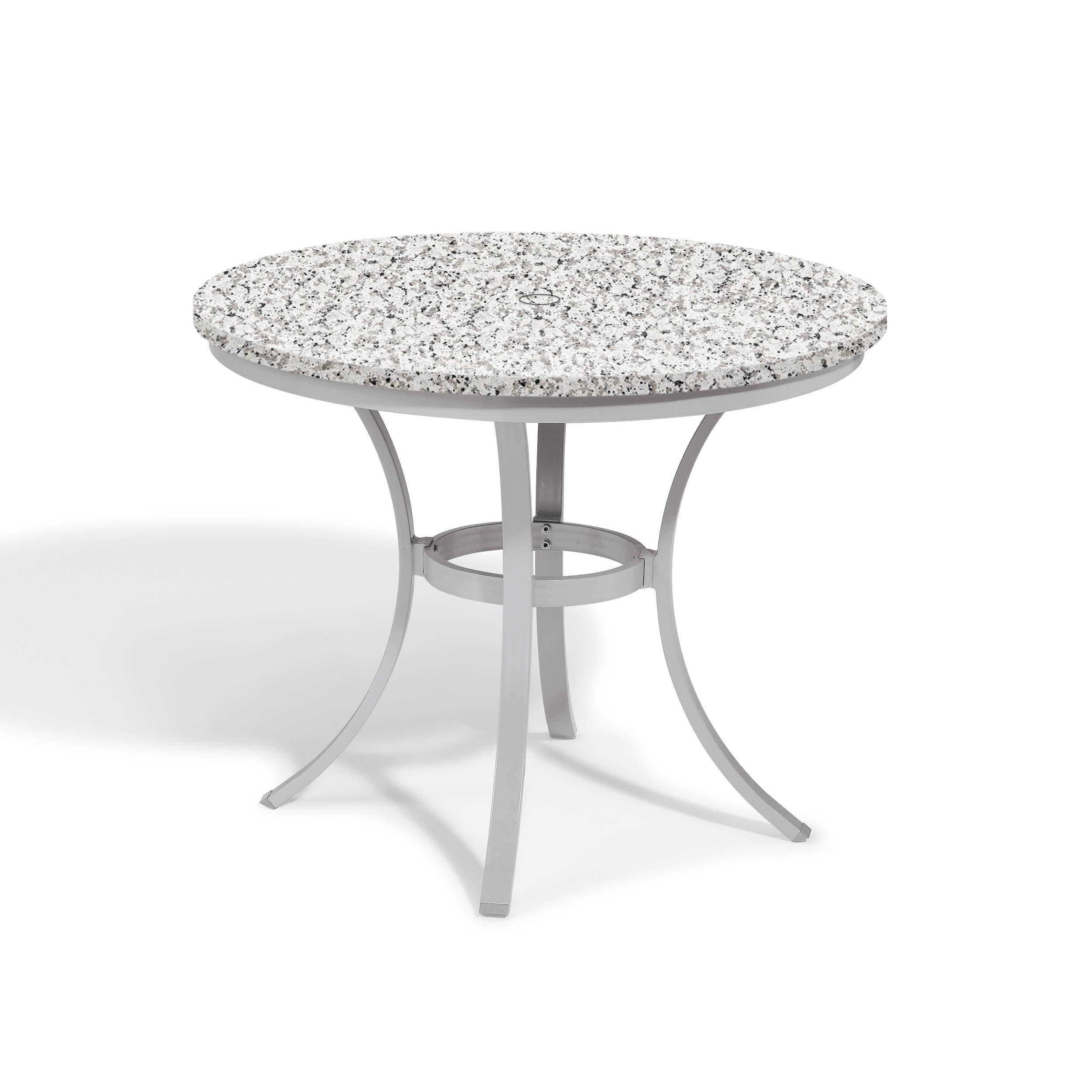 Oxford Garden Travira 36-inch Round Lite-Core Granite Ash...
