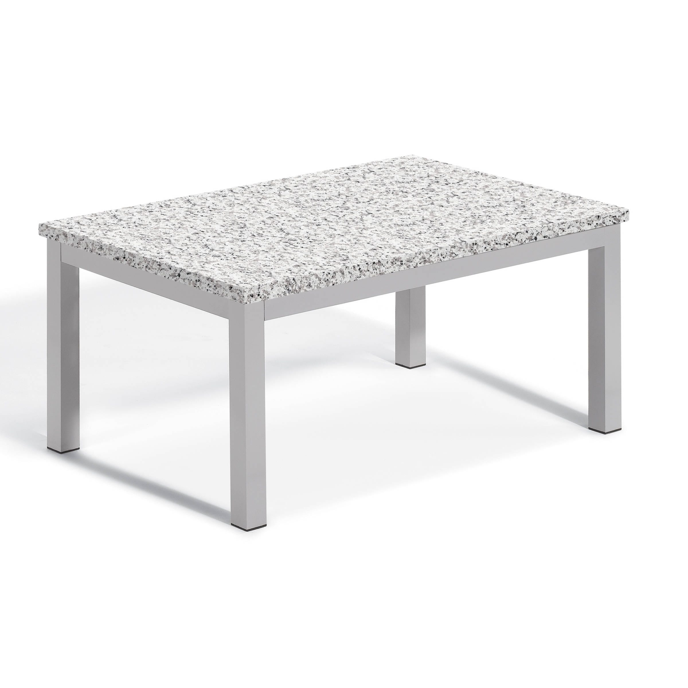 Oxford Garden Travira Lite-Core Granite Ash Coffee Table ...