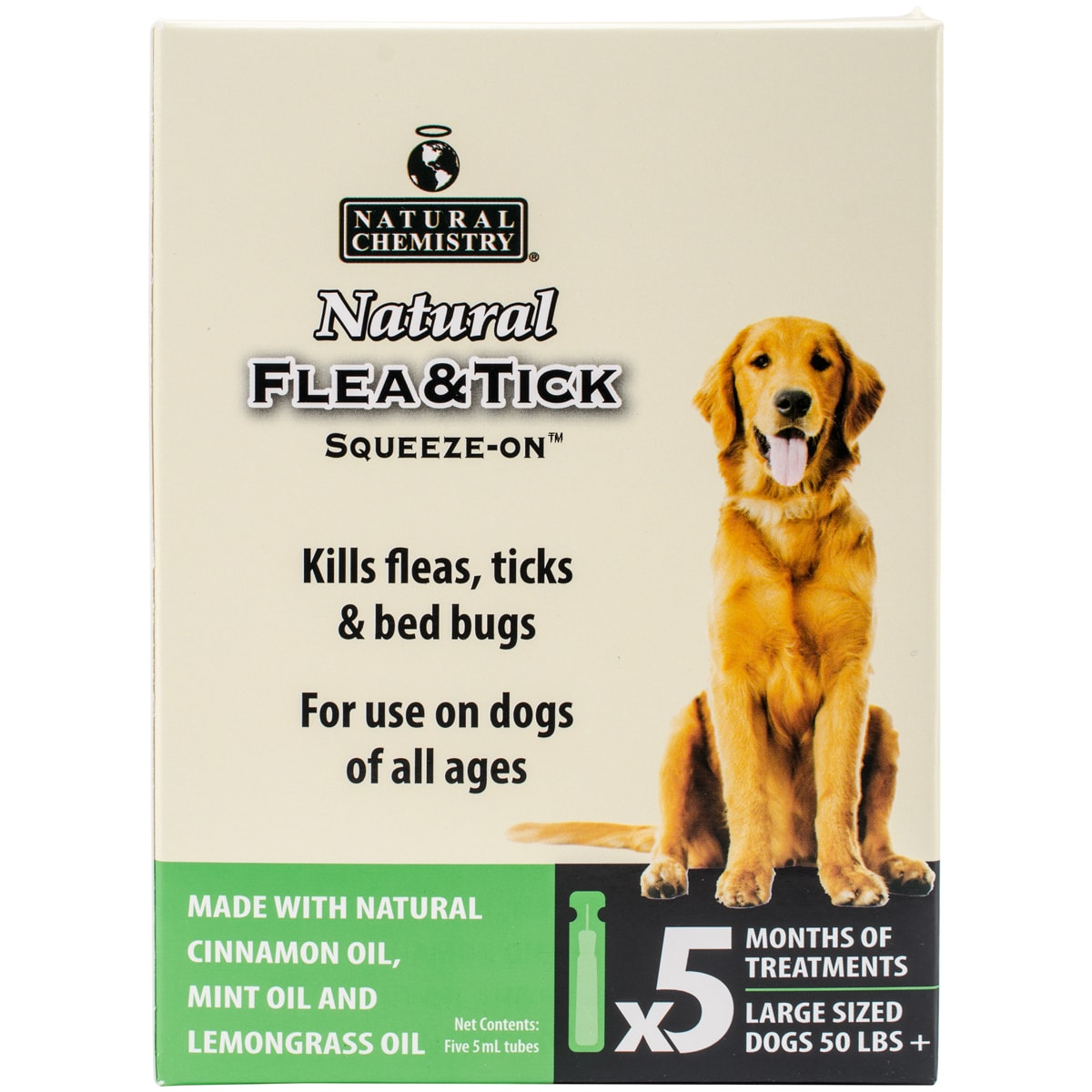 Natural Chemistry Natural Flea & Tick Squeeze On For Larg...