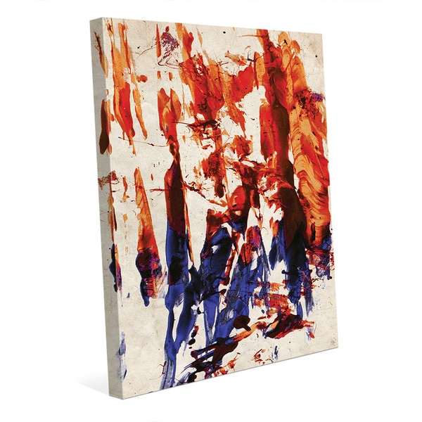 Rock And Love Abstract Wall Art Print on Canvas