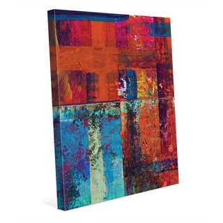'Kachidoki' Gallery-wrapped Canvas Abstract Wall Art Print