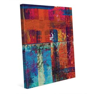 'Kachidoki' Gallery-wrapped Canvas Abstract Wall Art Print