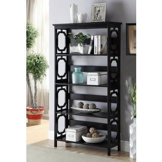 Convenience Contemporary Concepts Omega 5-tier Bookcase