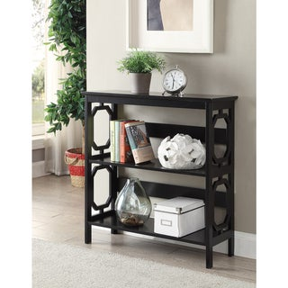 Copper Grove Hitchie 3-tier Open-back Bookcase