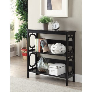 Convenience Concepts Contemporary Omega 3-tier Open-back Bookcase