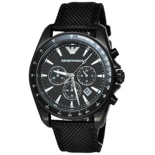 Armani Sigma AR6131 Men's Black Dial Watch