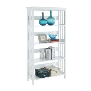 Convenience Concepts Mission 5-tier Bookcase