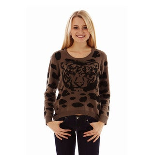 Jon & Anna Women's Tiger Head Sweater