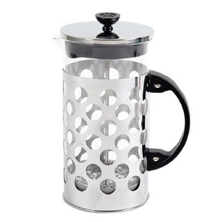 Mr. Coffee 33-ounce Silver Coffee Press
