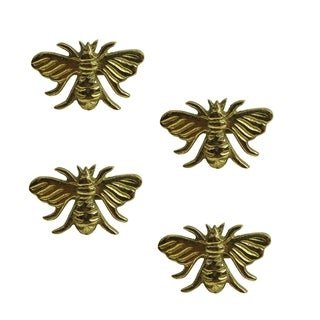 Gold Bee Napkin Ring- Set of 4