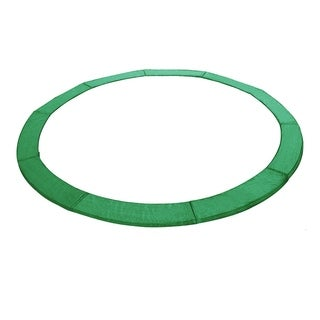 ExacMe Green PVC 14-foot Round Trampoline Replacement Safety Pad Spring and Frame Cover