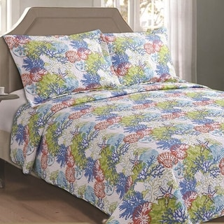 Panama Jack Sea Harvest 3-piece Quilt Set