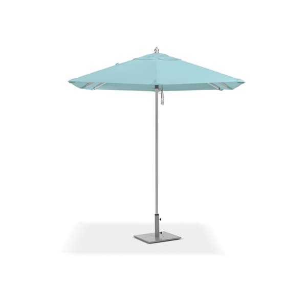Oxford Garden 6 5 Feet Square Mineral Blue Sunbrella