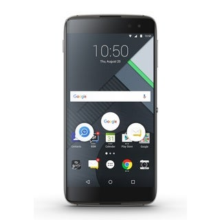 BlackBerry BBA100-1 32GB Unlocked GSM 4G LTE Quad-Core Android Phone - Black + DTEK60 Soft Shell Case + Rapid Travel Charger