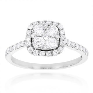 Luxurman 14k Gold 1ct TDW Diamond Engagement Ring (H-I, SI1-SI2)