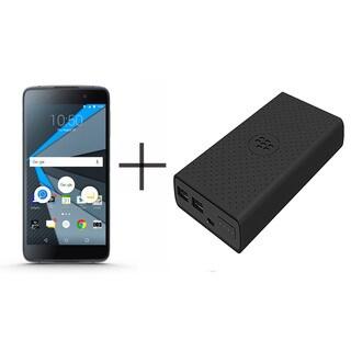 Blackberry STH100-1 DTEK50 Unlocked GSM 4G Android Phone w/ 13MP Camera + Blackberry MP-12600 Powerbank