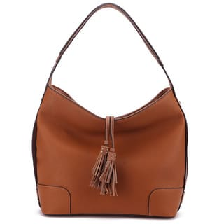 MKF Collection Tassel Hobo Shoulder Handbag by Mia K. Farrow|https://ak1.ostkcdn.com/images/products/14103761/P20711749.jpg?impolicy=medium