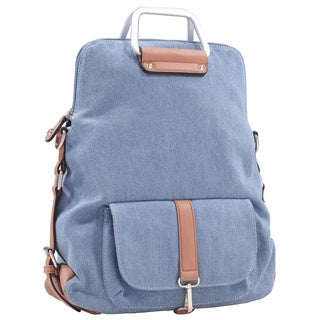 MKF Collection Denim Backpack by Mia K. Farrow