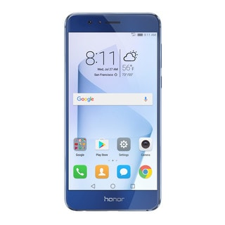 HUAWEI Honor 8 32GB Unlocked GSM 4G LTE Quad-Core Android Phone w/ 12MP Dual Lens Camera