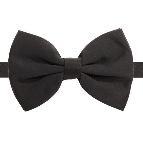 Ferrecci Unisex Premium Satin Bow Ties - M
