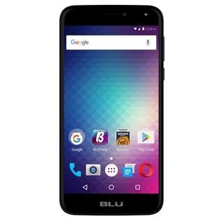BLU Life Max L0110UU 16GB Unlocked GSM 4G LTE Quad-Core Phone w/ 8MP Camera - Blue