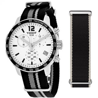 Tissot Quickster T0954171703710 Men's White Dial Watch