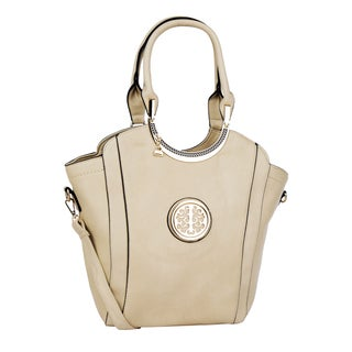 MKF Collection Vintage Shoulder Bag with Removable Strap by Mia K. Farrow