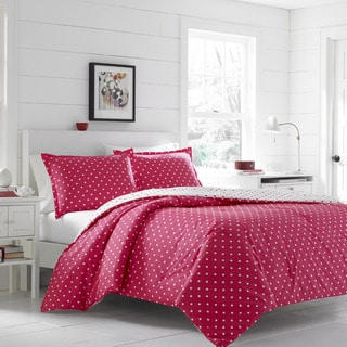 Poppy & Fritz On The Dot Hot Pink Comforter Set