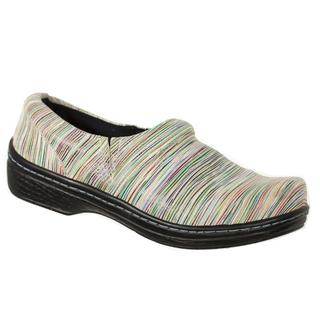 Klogs Women's Mission Candy Stripe Leather Shoes
