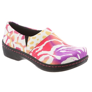 Klogs Women's Leather Mission Tigerberry Shoes