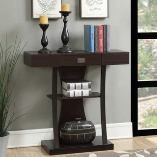 Copper Grove Kherson Brown Metal Console Table