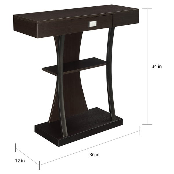 Copper Grove Kherson Brown Metal Console Table