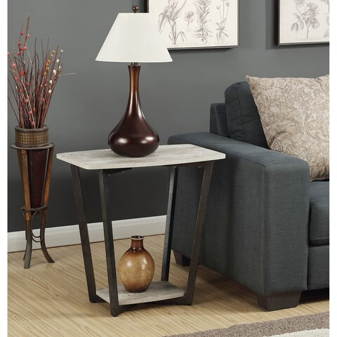 Convenience Concepts Graystone Modern End Table