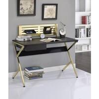 Acme Furniture Bolles Black Desk With Organizer