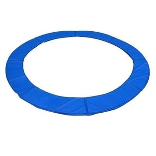 ExacMe Blue 12' Round Replacement Trampoline Frame Spring Cover Safety Pad
