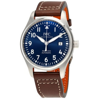 IWC Pilots IW327004 Men's Blue Dial Watch