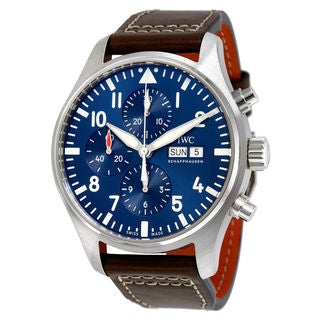 IWC Pilots IW377714 Men's Blue Dial Watch