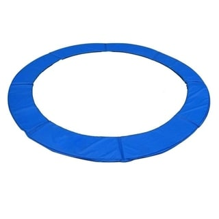 ExacMe Blue 14' Round Trampoline Replacement Safety Pad Frame Spring Cover