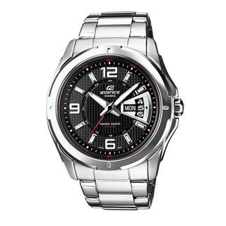 Casio Edifice EF129D-1A Men's Black Dial Watch