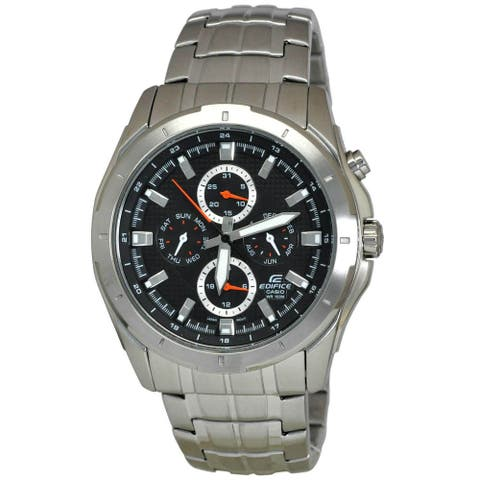 Casio Men's EF328D-1A 'Edifice' Stainless Steel Watch