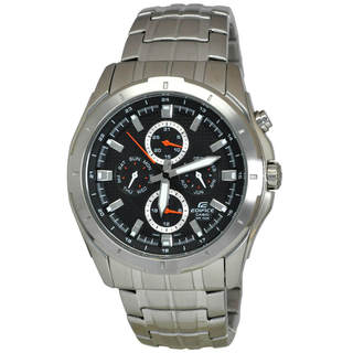 Casio Edifice EF328D-1A Men's Black Dial Watch