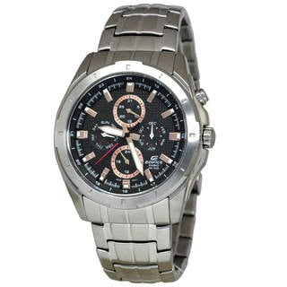 Casio Edifice EF328D-1A5 Men's Black Dial Watch