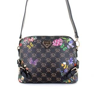 LANY Butterfly Buckle Crossbody Handbag