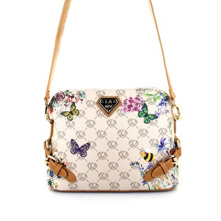 LANY Butterfly Buckle Crossbody Handbag