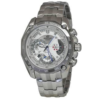 Casio Edifice EF550D-7A Men's White Dial Watch
