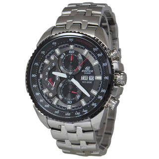Casio Edifice EF558D-1A Men's Black Dial Watch