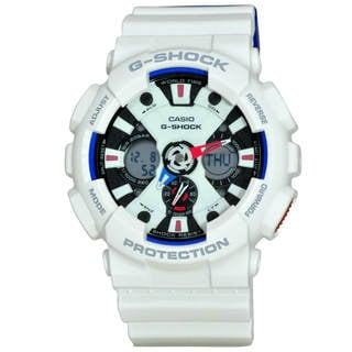 Casio G-Shock GA120TR-7A Men's Tricolor Dial Watch