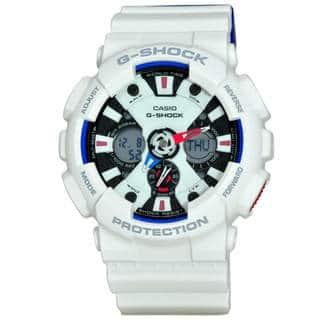 Casio G-Shock GA120TR-7A Men's Tricolor Dial Watch|https://ak1.ostkcdn.com/images/products/14104760/P20712566.jpg?impolicy=medium