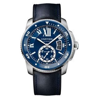 Cartier Calibre De Cartier Diver WSCA0010 Men's Blue Dial Watch