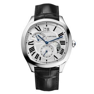 Cartier Drive De Cartier WSNM0005 Men's Silver Dial Watch